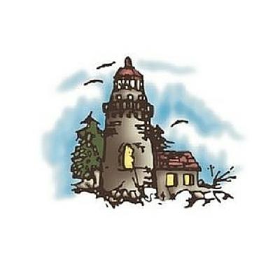 personalized Nursing Light House logo