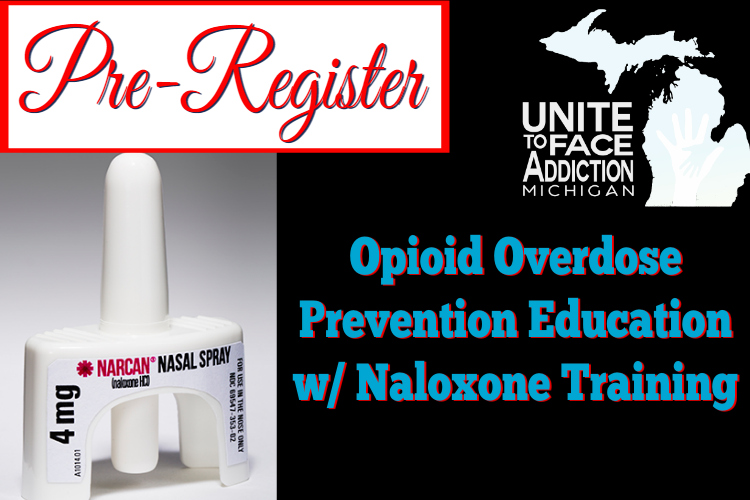 PreRegister for Naloxone Training