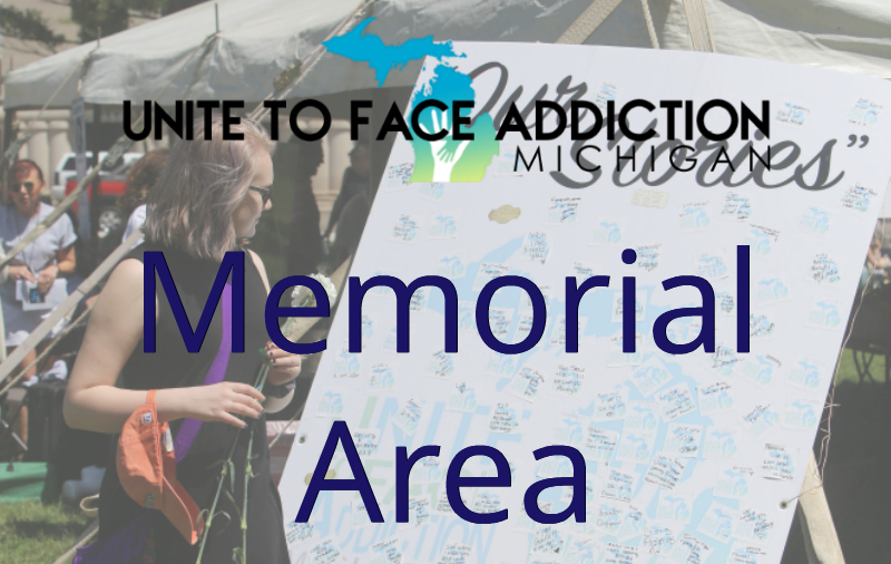 2018 UFAM Rally Memorial Area