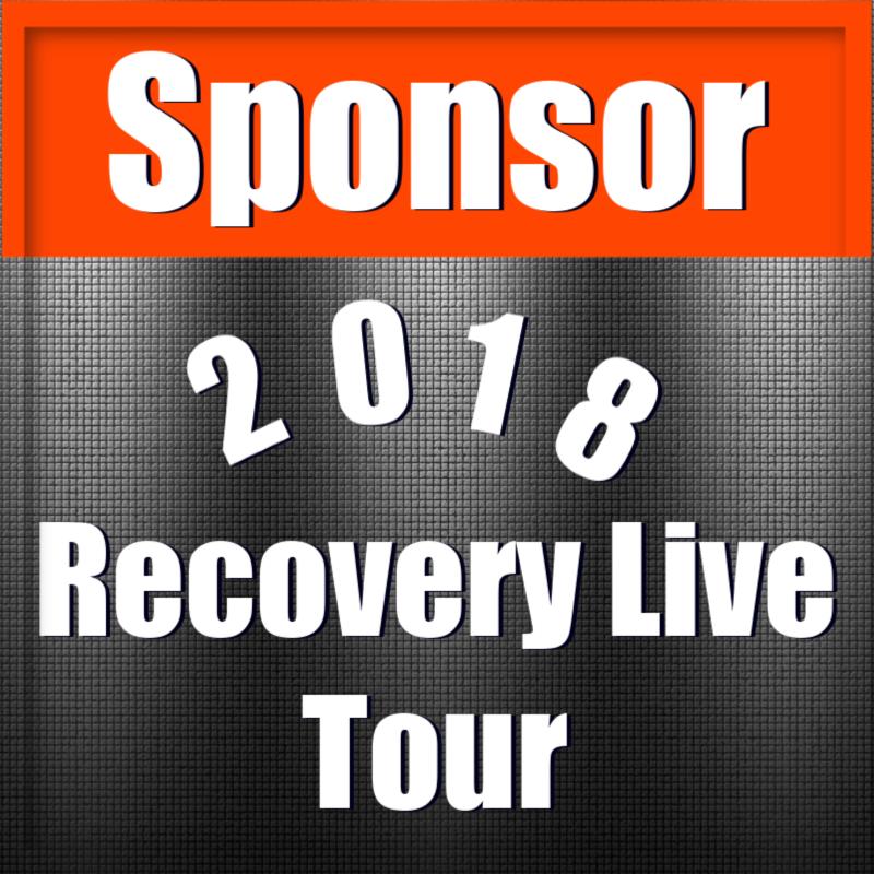 Sponsor 2018 Recovery Live Tour