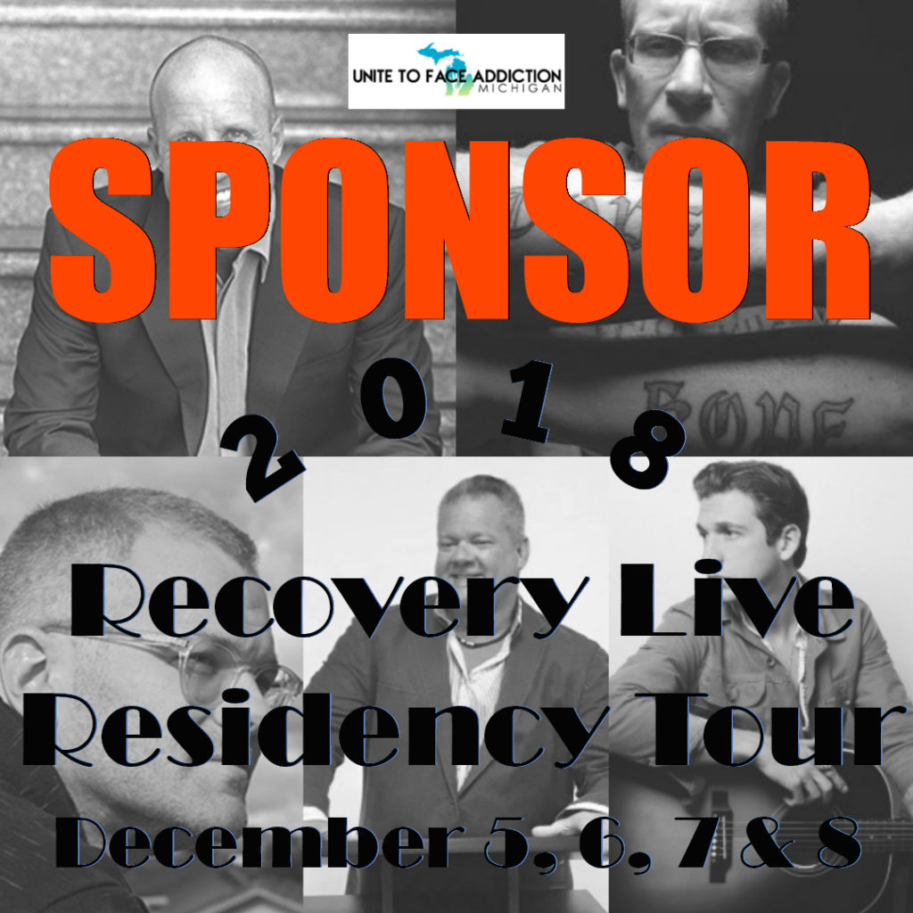 Sponsor 2018 Recovery Live Residency Live Tour