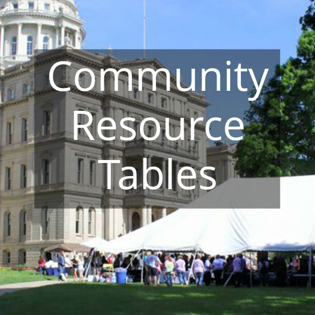 2019 UFAM Rally Community Resource Tables Square