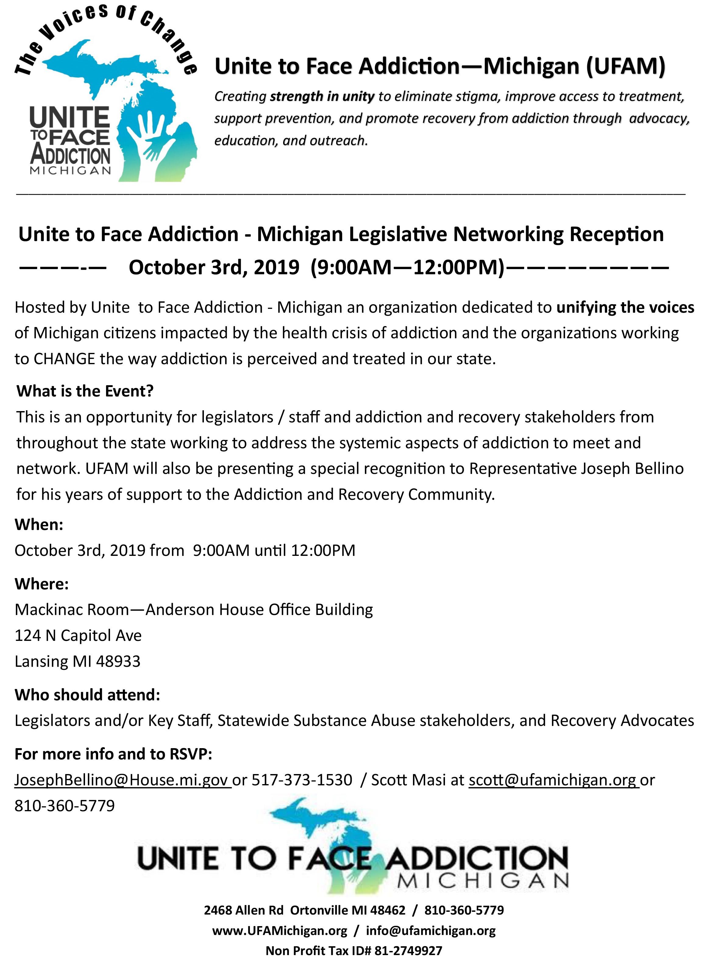 UFAM Leg Networking Oct 3