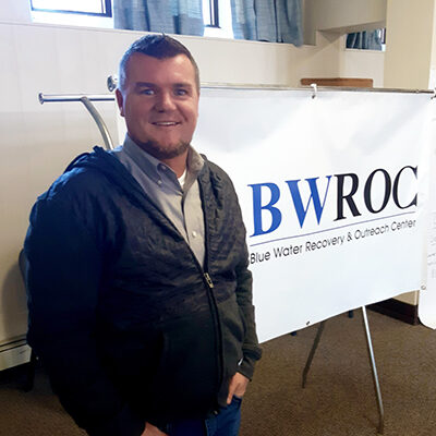 Patrick Patterson – Center Manager, BWROC – Recovery Happens