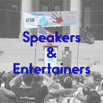 UFAM Rally 2020 Speakers & Entertainers