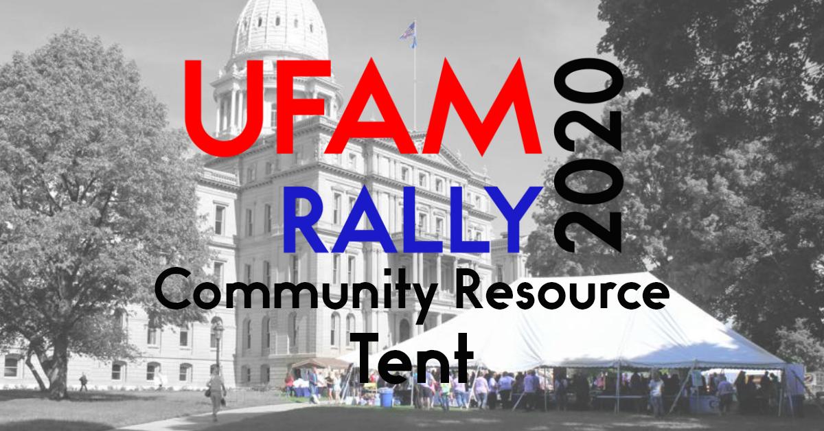 UFAM Rally 2020 Resource Tent